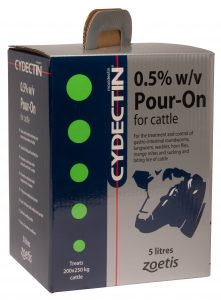 Cydectin Cattle Pour On
